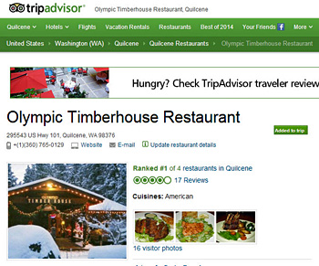 Our Trip Advisor Page - Click to View!